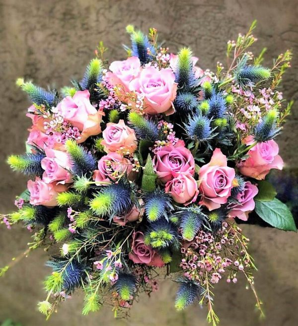bouquet of memory lane roses